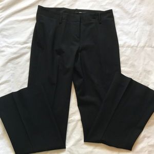 Hugo Boss black wool blend pants